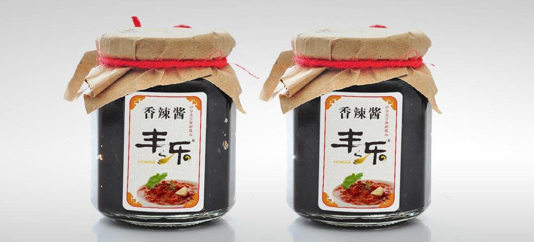 丰乐辣椒酱包装设计