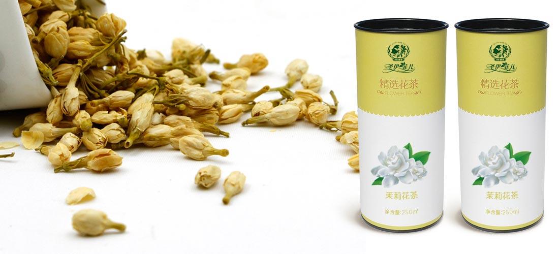 圣伊菲儿花茶系列包装设计