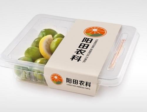 阳田农科蔬果包装设计