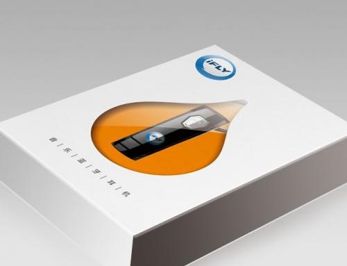 科大讯飞蓝牙耳机包装设计