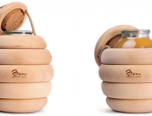 趣味丛生的包装设计:这样的蜂蜜你买么