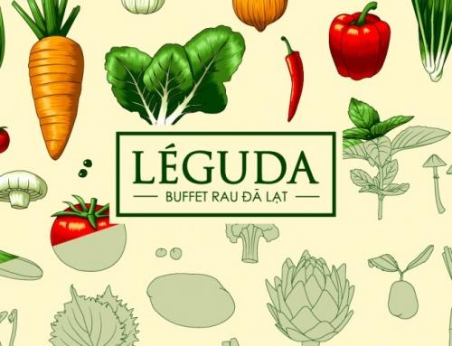 东凯创意收集:Leguda越南大叻蔬菜餐厅品牌视觉设计
