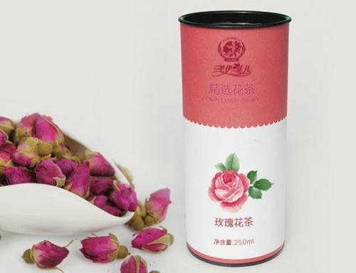 东凯公司包装设计案例:圣伊菲儿花茶系列茶叶包装设计